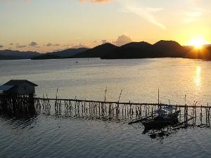 Last sunset in Coron